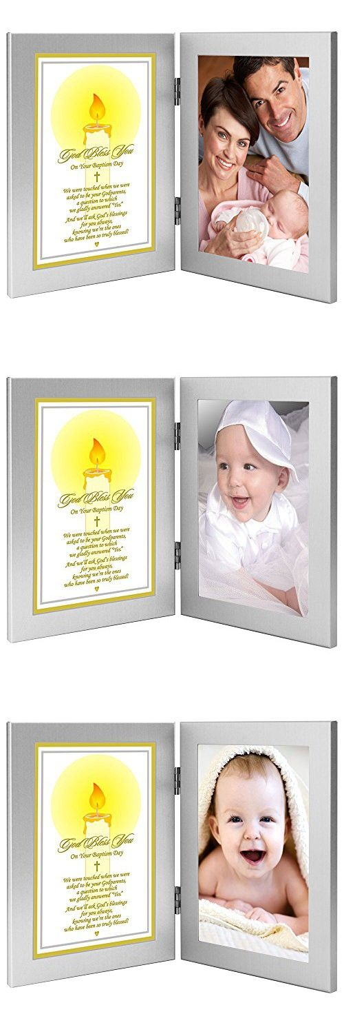 Godchild Baptism or Christening Gift - Baptism Keepsake Poem From Godparents to Godchild - Add Photo