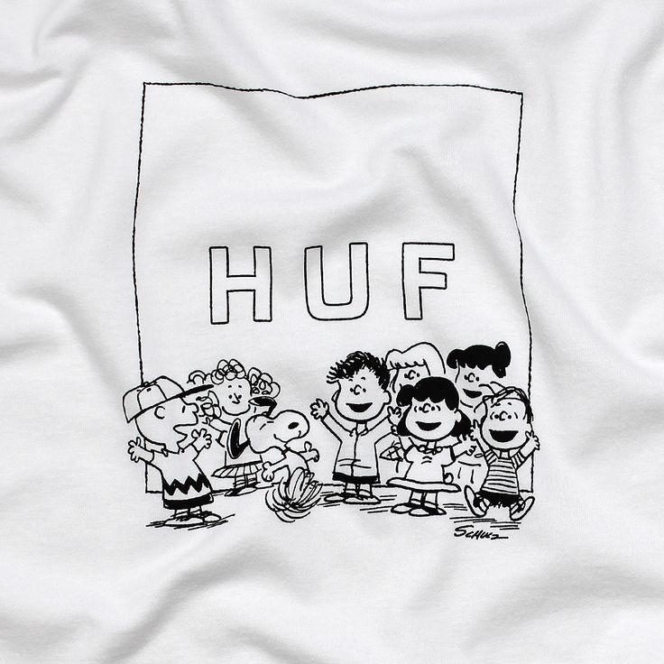 HUF X Snoopy Gang T-Shirt at Urban Industry