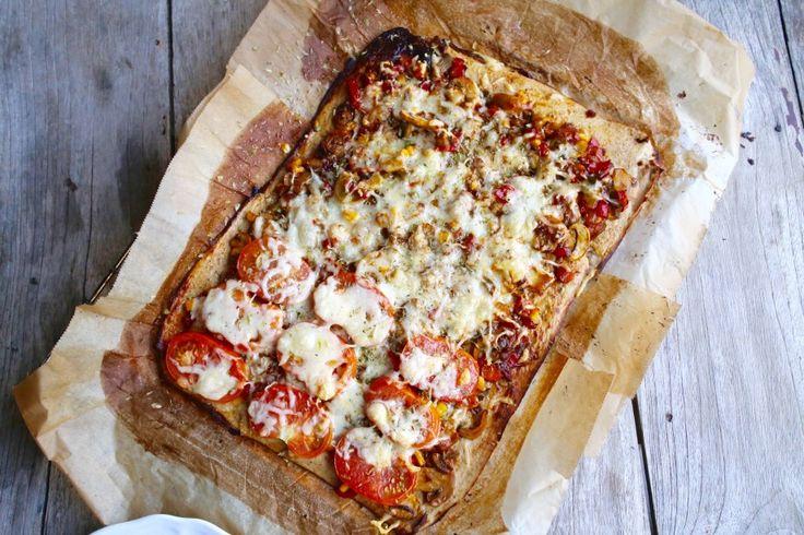 Pizza low carb de Fitfoodmarket - vikika