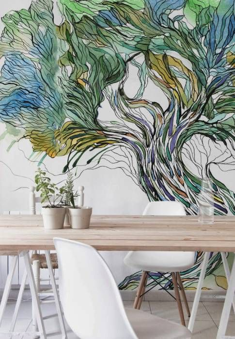 Tree: scandinavian Dining room by Pixers