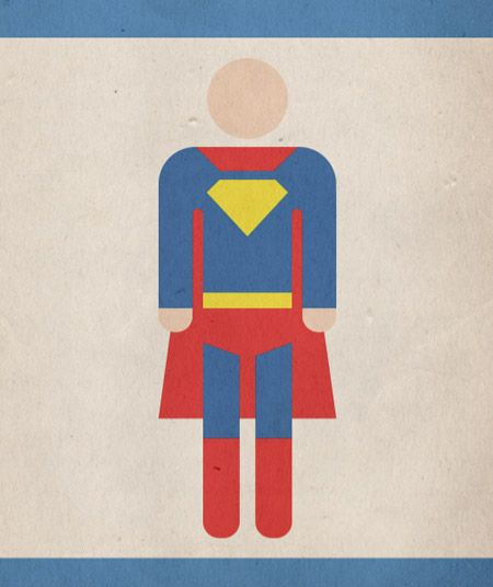 How To Create a Retro Style Superman Book Cover tutorial