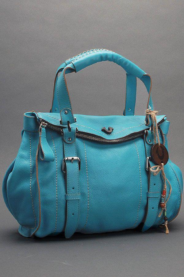 Leyla Day Bag - Turquoise - True Religion Brand Jeans - So pretty