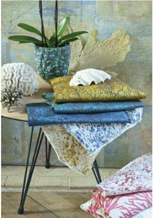 Coral Seas inspired collection by Karin Sajo