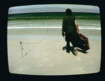 Randolph Hartzenberg. BREADLINE / WATERLINE [THE FIRST HAPTIC STRING] 2000. Video, 00:04:40. Courtesy the Artist