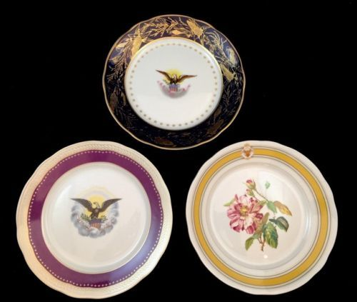 abraham lincoln white house dishes