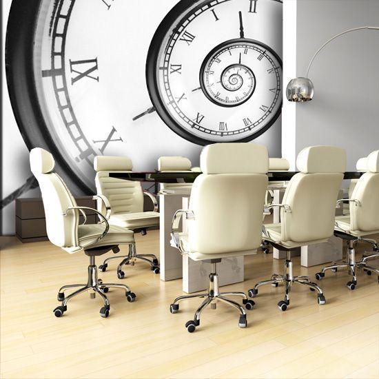 Abstrakcyjna fototapeta z inspirującym motywem będzie doskonałą ozdobą każdego pomieszczenia.
