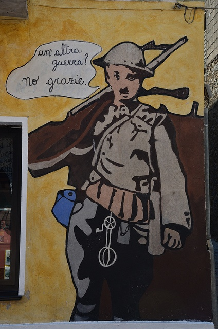 "Sardinia - Orgosolo: ""Another War? No, Thanks!"""