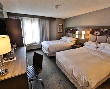 DoubleTree by Hilton Hotel Atlanta Alpharetta, GA - Two Double Bedroom