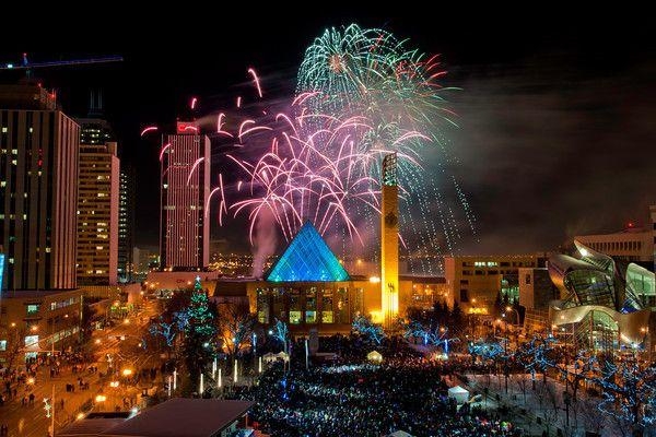 New Years Eve Edmonton www.edmonton.ca/newyearseve Photo Credit; Anthony P. Jones #EdmontonEvents #NewsYearsEve #Edmonton #EdmontonCityHall