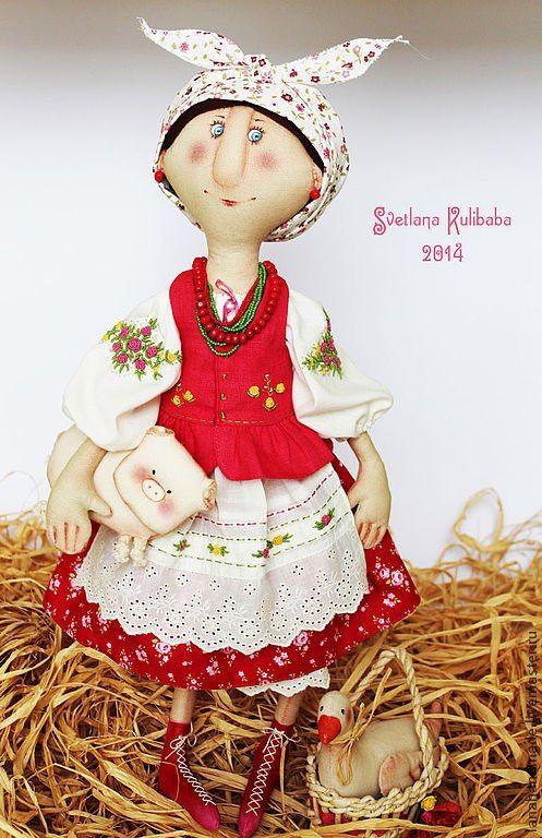 кукла солоха