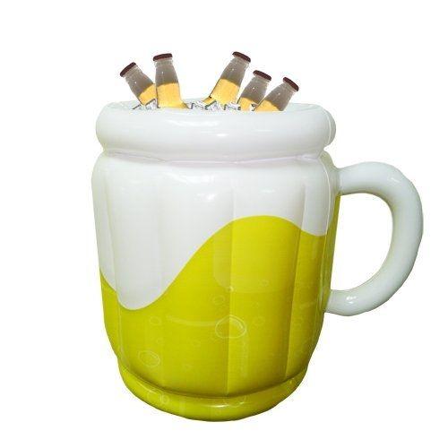 Tieni le tue birre in fresco... in una birra gigante! Un fantastico secchiello per bevande gonfiabile, che puoi portare dove vuoi, a forma di enorme boccale di birra!   SEGUICI ANCHE SU TELEGRAM: telegram.me/cosedauomo