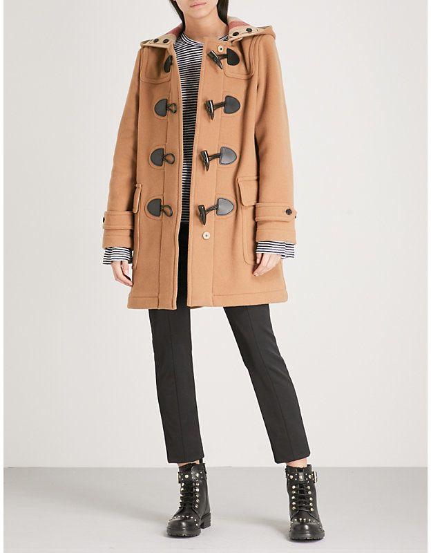BURBERRY Mersey wool blend duffle coat in 2019 | Duffle coat