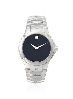 36% OFF Movado Men's 605788 S.E. Silver/Black Stainless Steel Watch