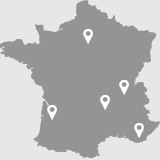 Nos Implantations Referencement Google - Agence SEO - Le referencement pour PME et grands comptes