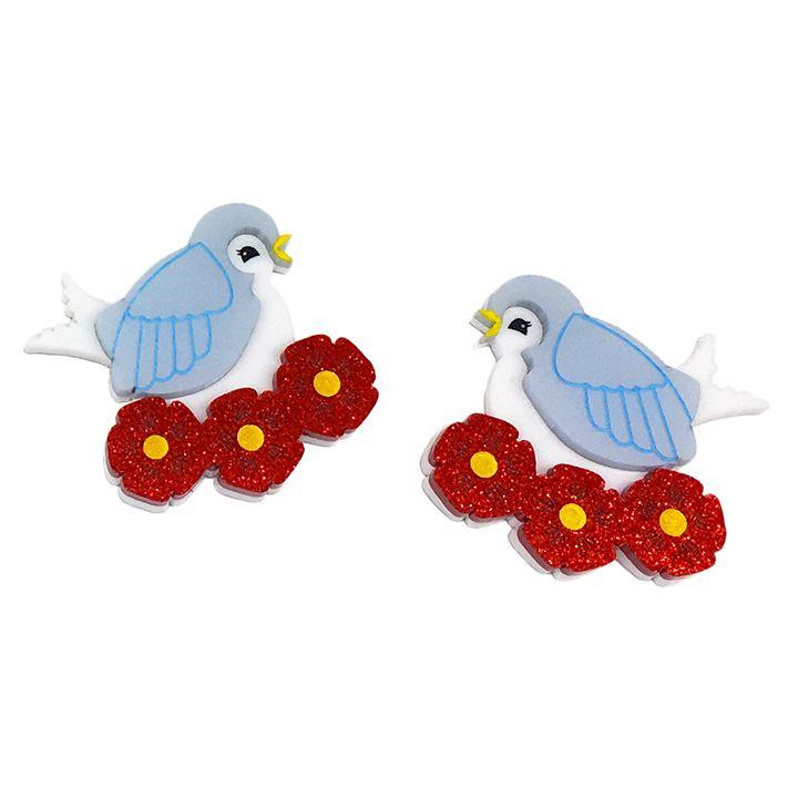 BARB'S BLUEBIRDS- Peppy Chapette