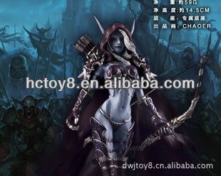 World of Warcraft(WOW) Forsaken Queen Sylvanas Windrunner action Figure toy, View World of Warcraft Sylvanas Windrunner , Big players Product Details from Lucky Toy Firm In Yuexiu District Of Guangzhou City on Alibaba.com