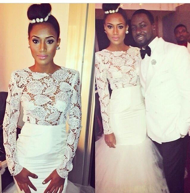 Nigrian Bridal Wedding Dresses: 47 Best Images About Church White Wedding Dress Nigerian
