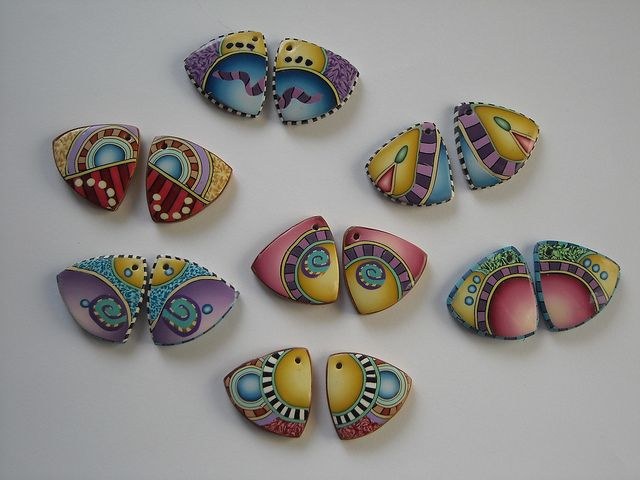 Earring pairs by dixie103, via Flickr