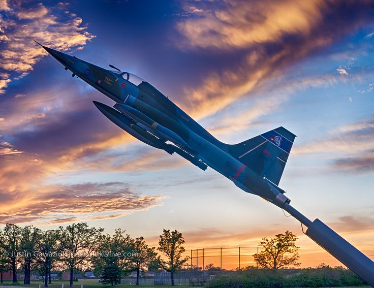 https://flic.kr/p/tZtoiM | CF-116 Freedom Fighter at Air Force Heritage Museum and Air Park in Winnipeg, Manitoba, Canada | Part of Air Force Heritage Museum and Air Park in Winnipeg, Manitoba, Canada. HDR composite of 7 images. Challenging to nail exposure when shooting into the sun.