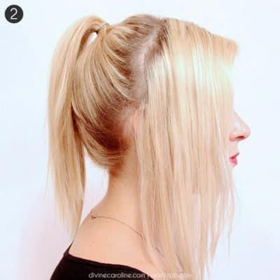 21 Second-Day Hairstyle Tutorials #Shorthairponytail