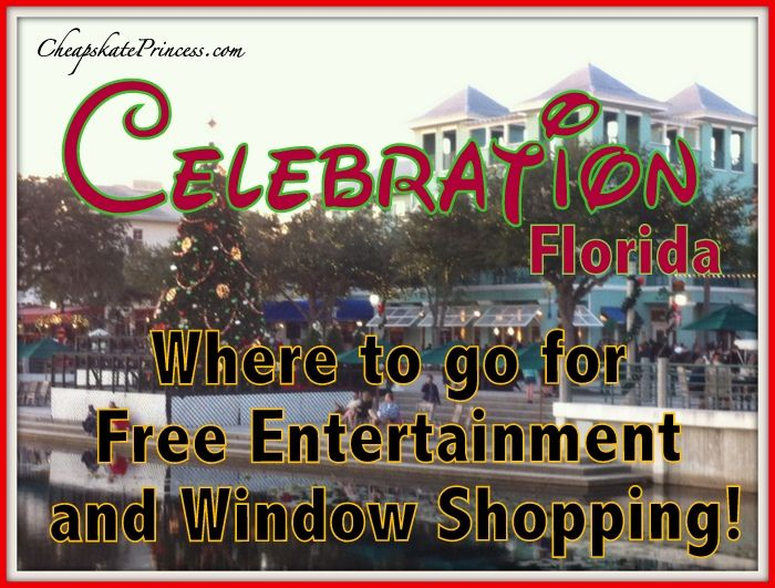 Ever heard of Celebration Florida? This is a HUGE guide to FREE fun, entertainment, restaurants, and shopping! It snows at Christmas!