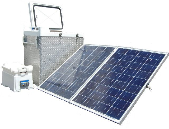 Use in the most remote of locations, with solar panel and backup battery system.
