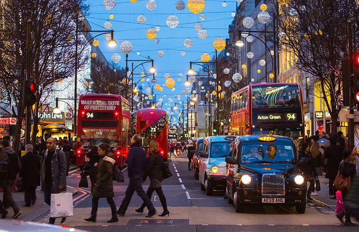 Londres en navidad.