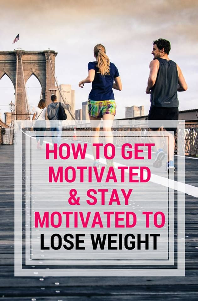 How to get motivated (and stay) motivated to lose weight!  Learn tips that really work from a former fat girl turned nutritionist.