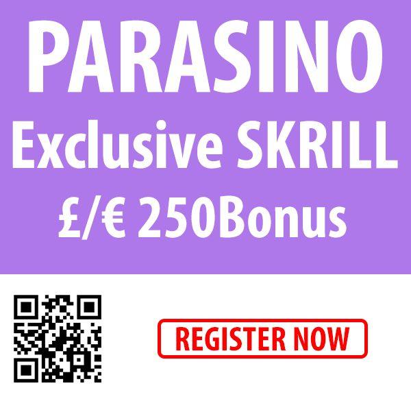 A great  offer is waiting for you at Parasino!  #online #casino #skrill #bonus #free #spins  http://parasino.com/en/promotions/exclusive-10-skrill-casino-deposit-bonus-250-euro