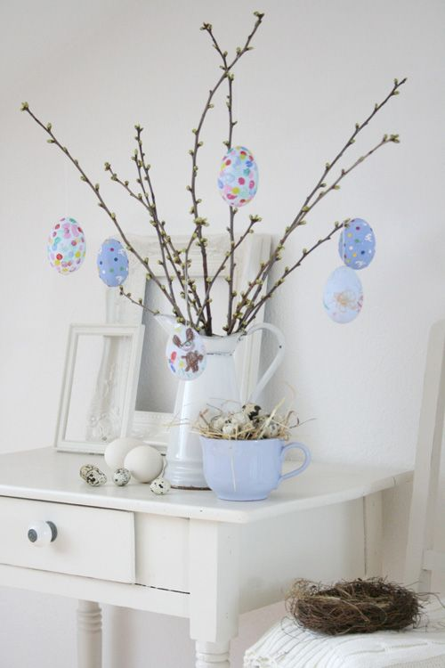 Another egg tree just like mine:   http://beckschiclife.blogspot.com/2011/03/easter-decor.html