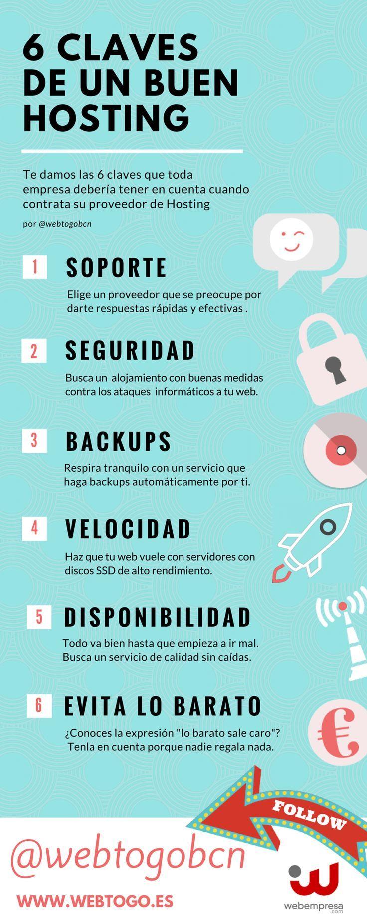 6 claves de un buen hosting
