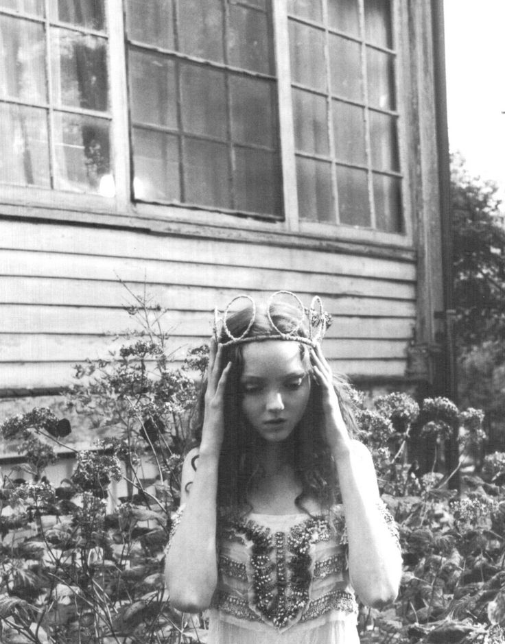 Lily Cole by Carter Smith, Vogue Japan March 2006