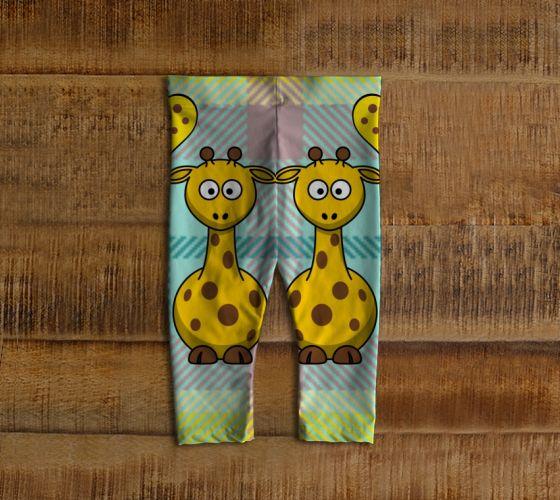 #ArtofWhere - Pretty Giraffes Baby leggings  by Elena Indolfi