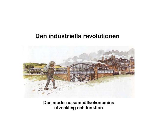 Industriella revolutionen   skolsidan