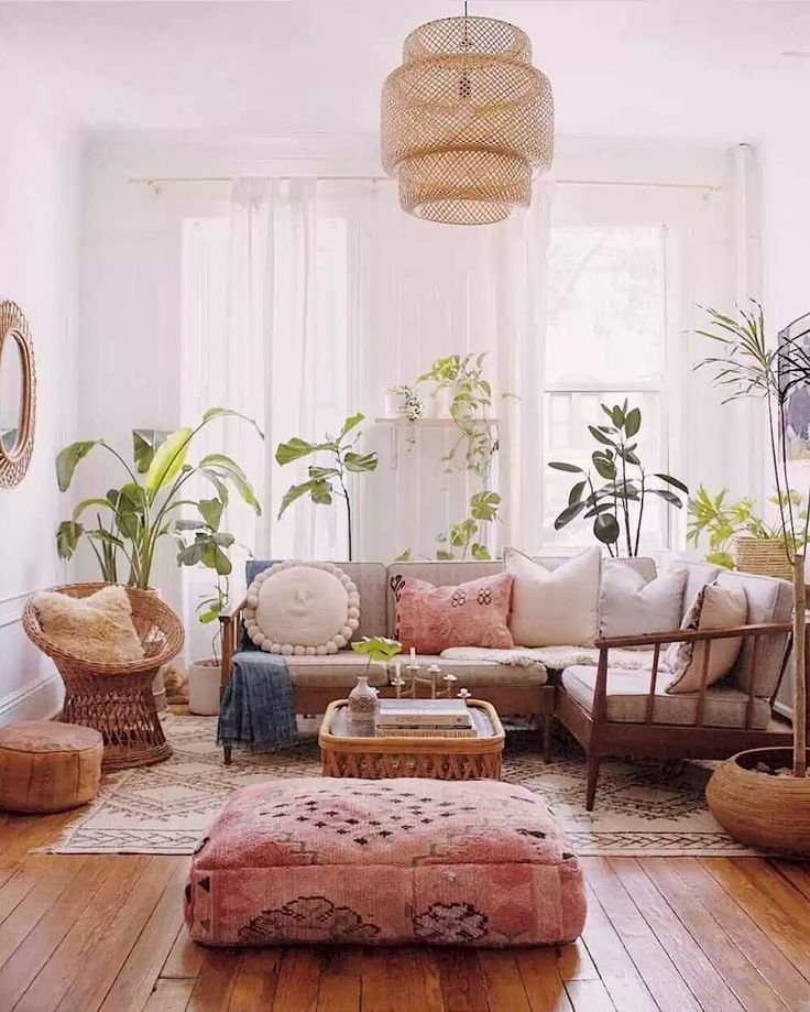 42 cozy bohemian living room decor ideas