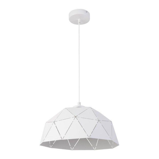 Lampa Wiszaca Origami S 1 X 60 W E27 Biala Lampy Wiszace Saving Light Pendant Lamp Lamp
