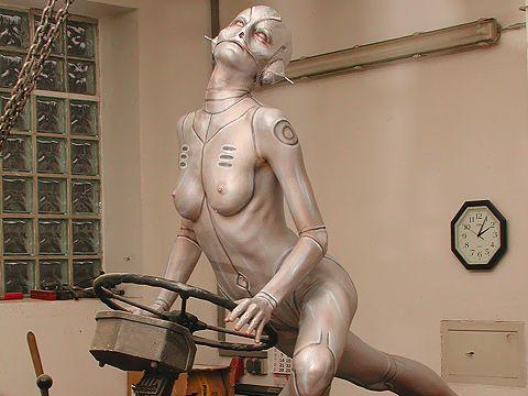 Japanese erotic robots hot