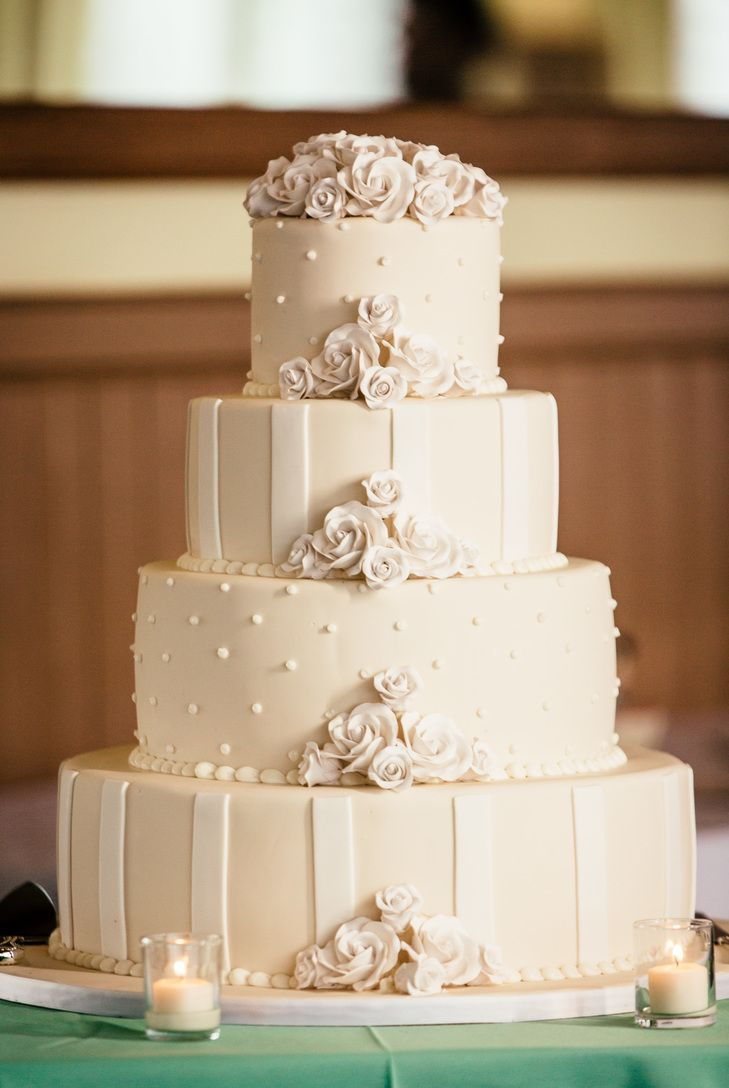 wedding cake nj four tier ivory wedding cake popography https www 23312