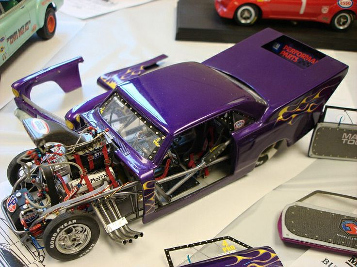 Nice nova pro mod race car plastic model cars model