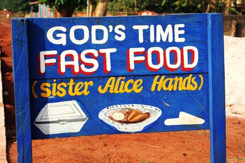 christianity in ghana | Nothing is sacred, or rather, everything is.
