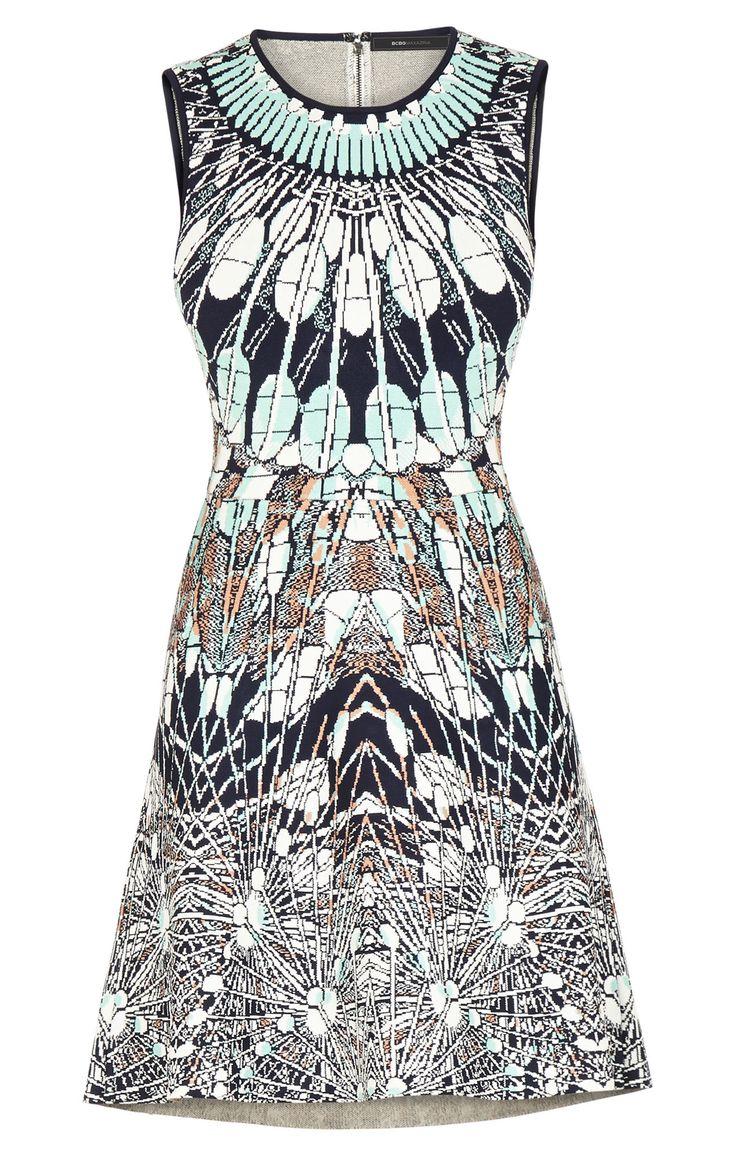 Image result for a-line batik dress sleeveless
