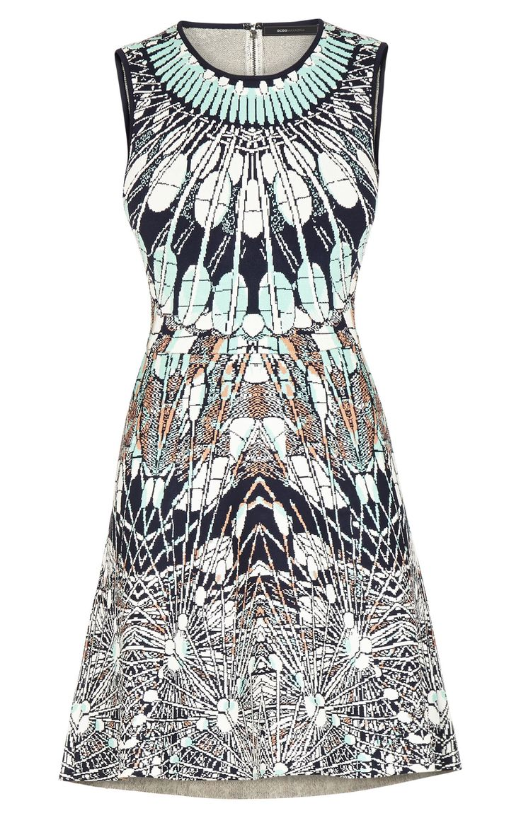 Image result for a-line batik dress sleeveless