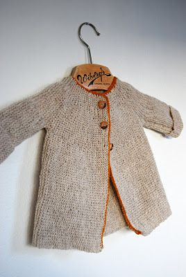 little jacket / maria carlander @Anna L. C. R. I can totally see your little one in this!