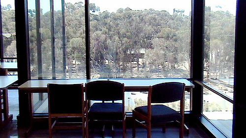 Study or daydream at Geisel | Flickr - Photo Sharing!