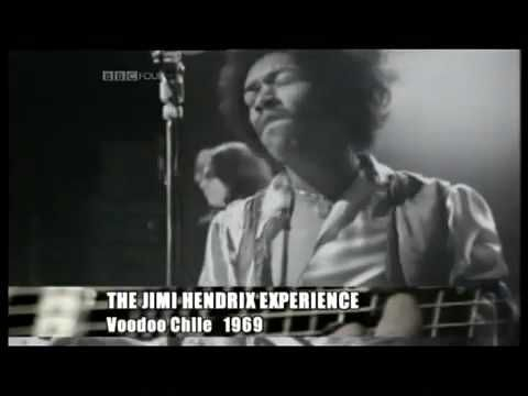 Jimi Hendrix Voodoo Chile Guitar Heroes at the BBC Part I
