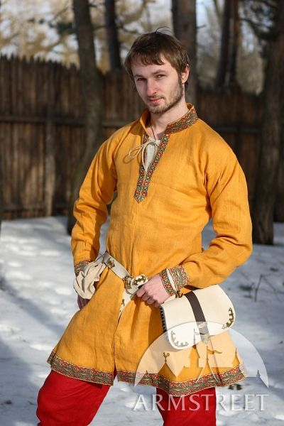 Prince of Denmark medieval tunic dark-ages costume set