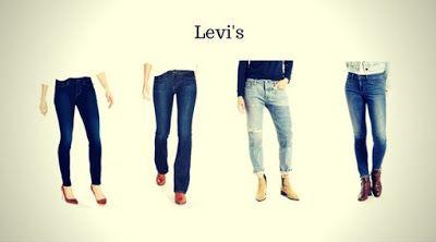 Top 12 Marcas de Calças Jeans Femininas - Calças Jeans Femininas da Levi's