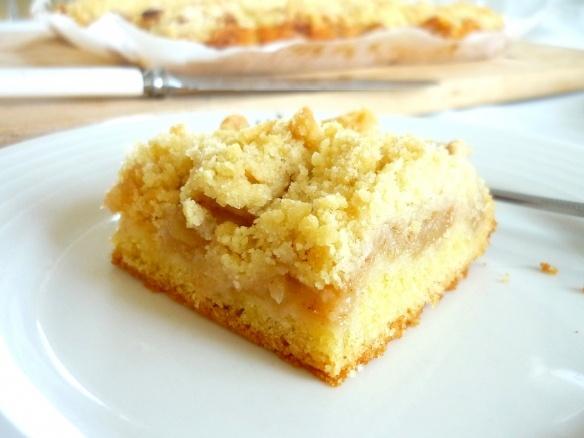 Polish Apple Pie Bars, aka Szarlotka