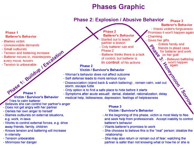 Violence Phases – Domestic Violence Shelter and Services, Inc.