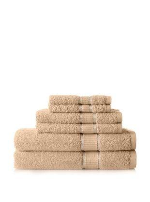 50% OFF Espalma Ambassador 6-Piece Towel Set, Wheat